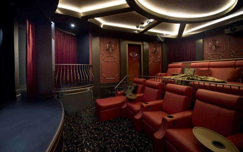 Elite Hts F9 Home Theater Seating, Theatre Room Furniture