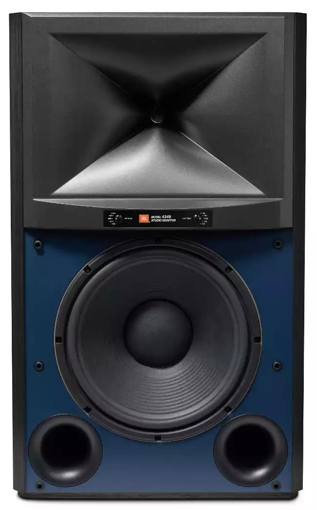 It may look like a blast from the past, but JBL's retro-inspired 4349 studio monitor comes packed with the company's new compression driver and HDI waveguide.