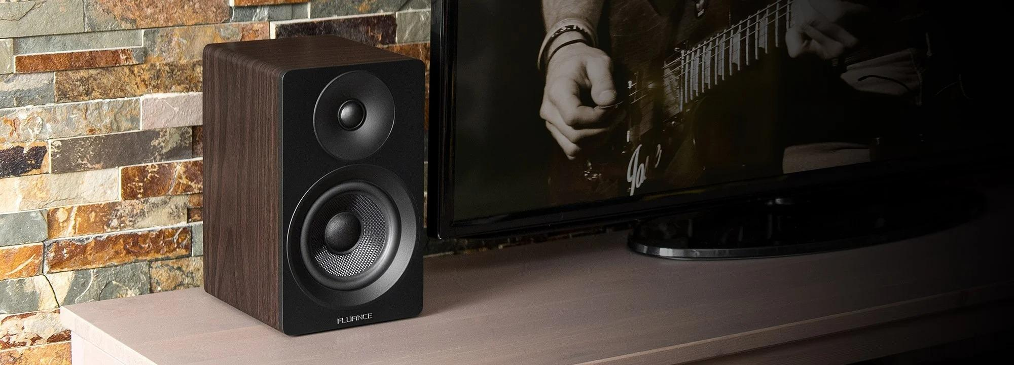 The Ai41 Powered Bookshelf Speakers offer great sound and connectivity options that should satisfy most listeners.
