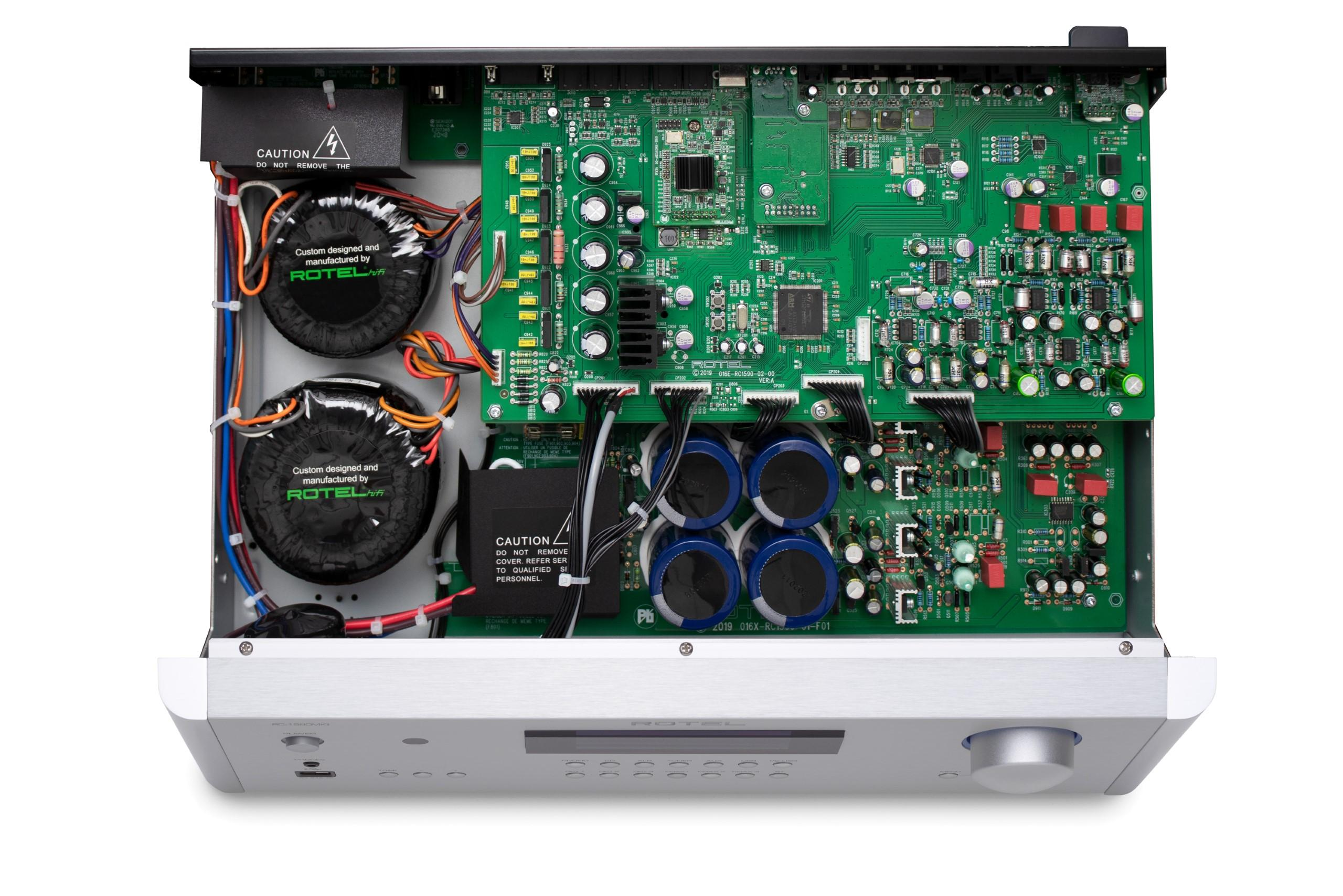 Rotel's latest pre-amplifiers are excellent performers jam-packed with inputs and solid engineering.