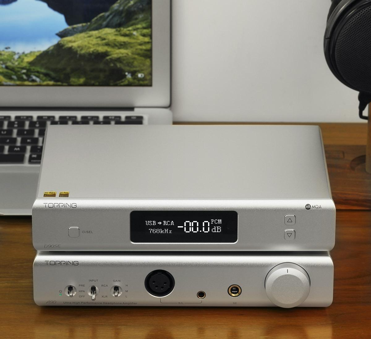 Topping has revamped its flagship DAC model with even better noise and distortion specifications. See how the new D90SE performs.