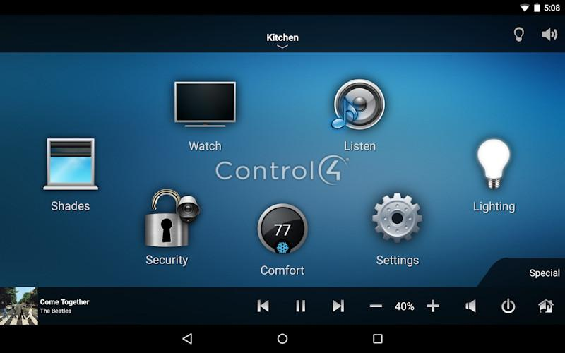 Control4_Android hc 250 control system Aiphone Intercom Systems Wiring Diagram at crackthecode.co