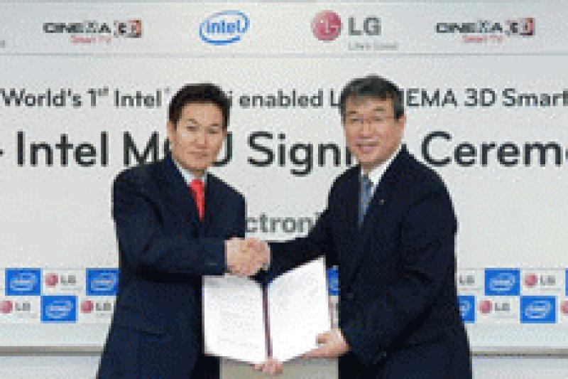 LG and Intel Create Alliance for WiDi Wireless Display Technology