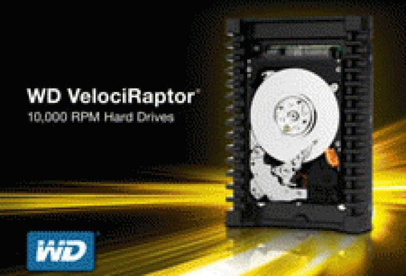 Western Digital VelociRaptor Hard Drive Reaches New Performance Peak for Home Theater PCs