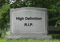 High Definition, We Hardly Knew Ye