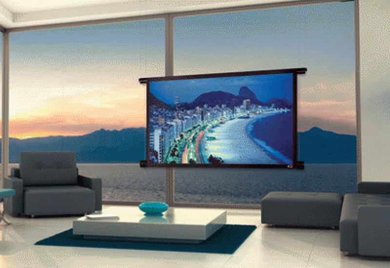 New Screen Innovations Black Diamond Motorized Projection Screen Now Shipping