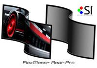 New FlexGlass Rear-Projection Screen Material by Screen Innovations Features Impressive Flexibility