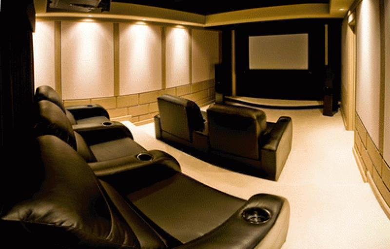 Elegant Home Theater (St. Louis)