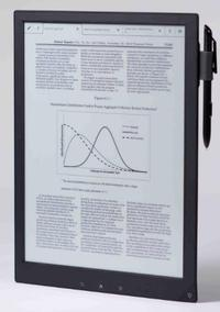 Sony Unveils Digital Paper