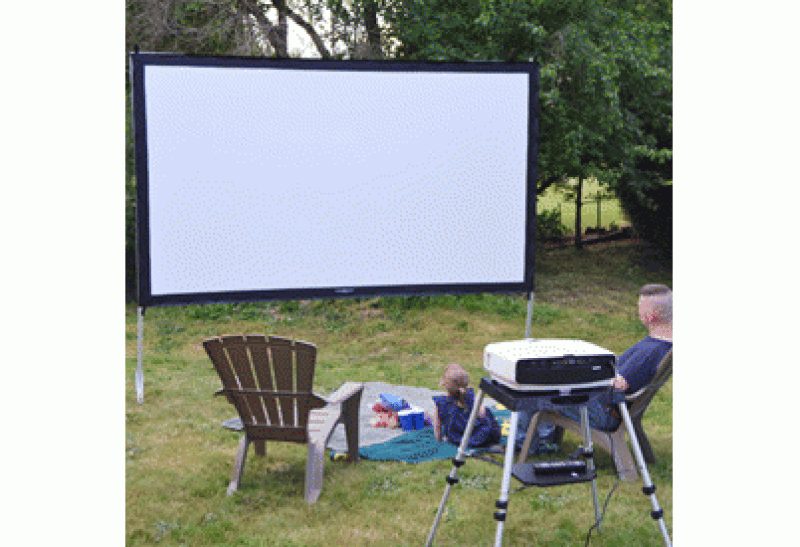 Home Theater in the Great Outdoors Is Less Expensive Than You Might Think