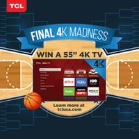 TCL to Give Away Four Roku 4K TVs Throughout March