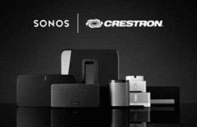 Crestron Expands Partnership with Sonos