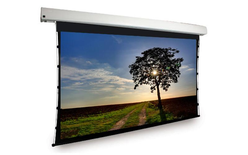 Dragonfly Motorized Tab Tension 100-inch, Matte White Film Screen Reviewed