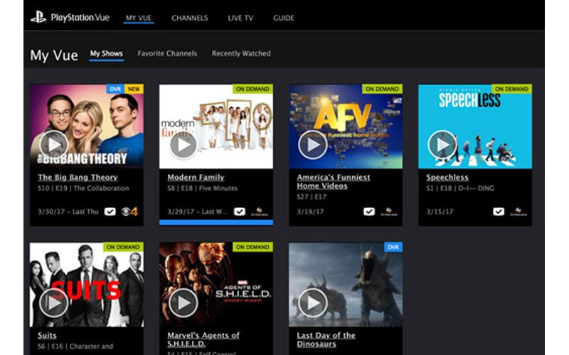 PlayStation Vue Internet TV Service Reviewed
