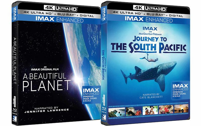 DTS Announces Release of First IMAX Enhanced UHD Blu-rays