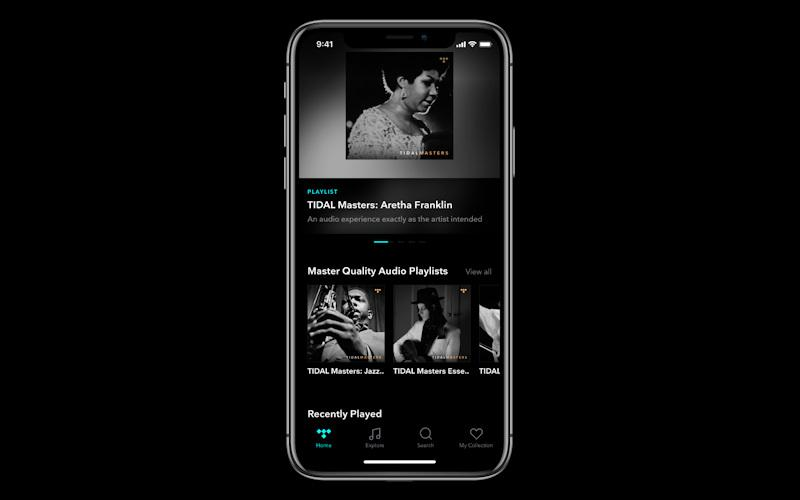Tidal iOS App Now Supports MQA