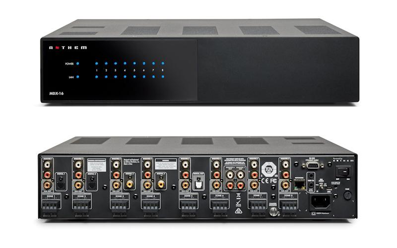 Anthem Launches MDX Audiophile Multi-Zone Distribution Systems