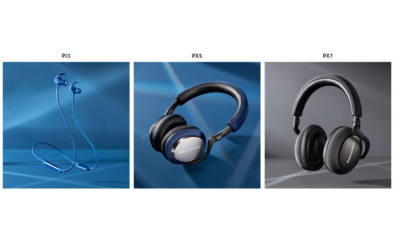 Bowers & Wilkins Introduces Four New Wireless Headphones