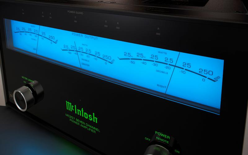 McIntosh Intoduces MC257 Seven-Channel Amp