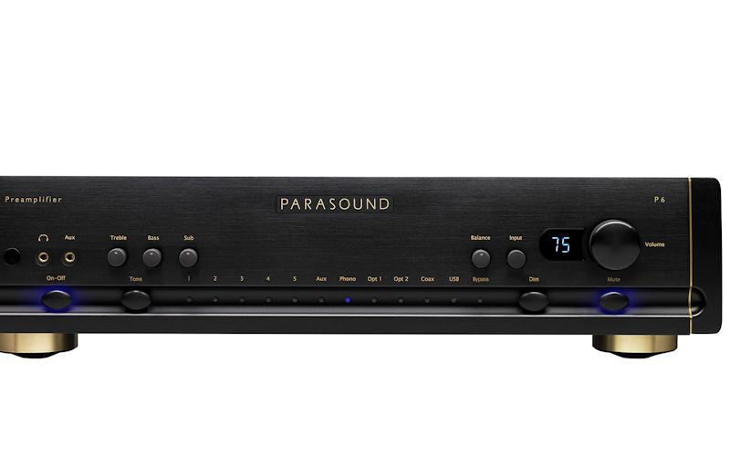 Parasound Halo P 6 Preamplifier & DAC Reviewed