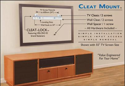 Cleat Mount Universal Tv Mount Reviewed